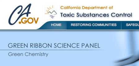 Green Ribbon Science Panel